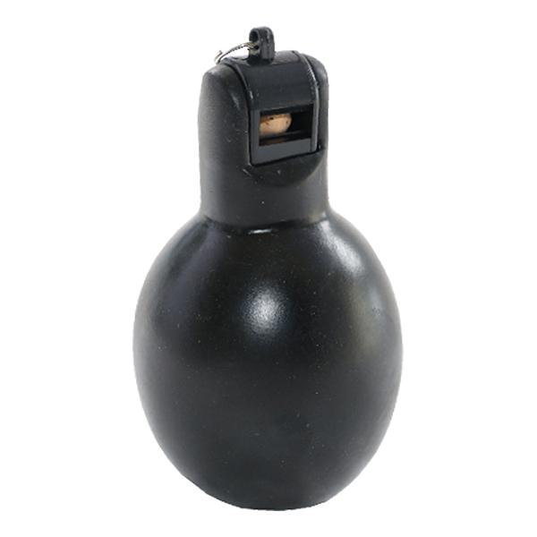 Squeeze Whistle-Black (No packaging)