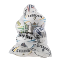 Mesh Ball Bag-White (Holds 12)